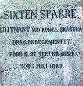 Sixten Sparre